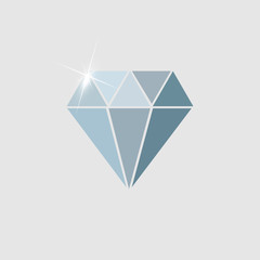 Diamon Icon Illustration