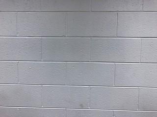 Cinder Brick Wall