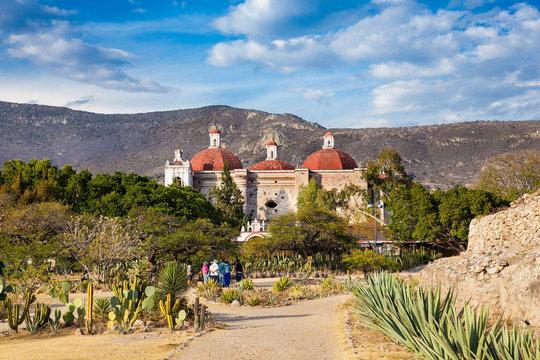 San Pablo Church In Mitla, Oaxaca, Mexico.