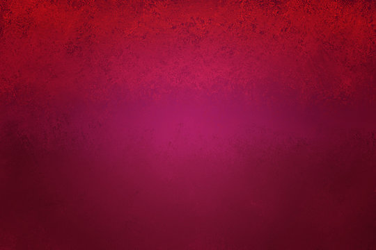 red burgundy maroon and hot pink grunge background with old vintage distressed texture and soft center lighting
