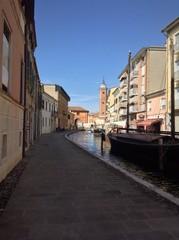 Street in Comacchio