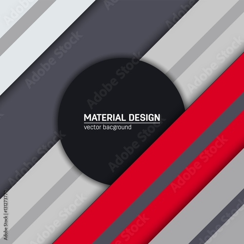 Vector Material Design Background Abstract Creative Concept Layout