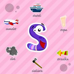 Literka S i słowa z nią związane