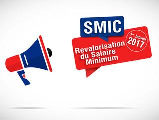 mégaphone : revalorisation du SMIC