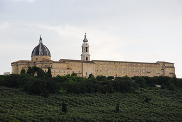 .Basilica of the Holy House in Loreto, italy