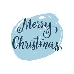 Christmas letterig