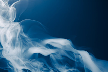 blue smoke background