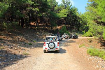 Grèce, safari en 4x4 tout terrain