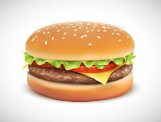 Hamburger vectoriel 1