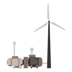 wind turbine working principle diagram