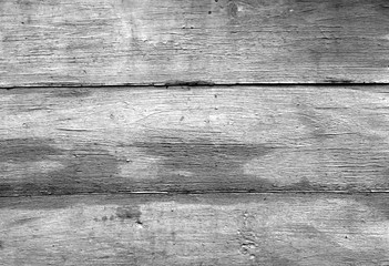 Black and white weathered wooden wall texture.