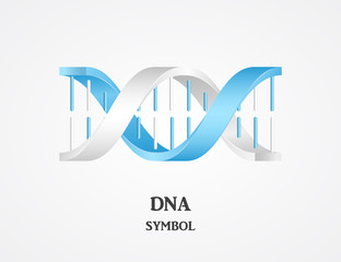 DNA symbol, DNA logotype, science logo, spiral logo