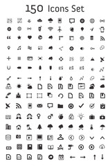 Set of 150 Icon Set