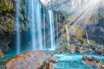 amazing Yerkopru waterfall