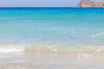 Summer Beach Scene, Crete