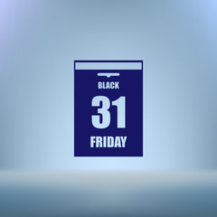 Black Friday Sale Calendar date page