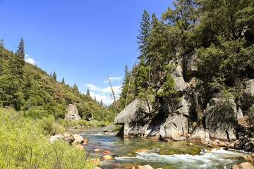 King's river at Sequoia national forest