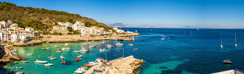 A veiw of Levanzo Island, Sicily, Italy