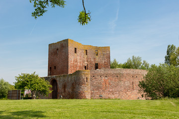 The ruin castle Teylingen in Sassenheim in the Netherlands.