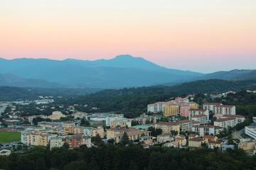 Corte, Corse, France.