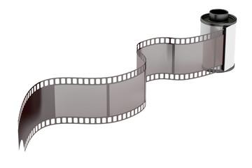 camera film roll 35mm, 3D rendering