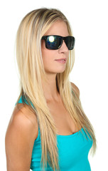 Lovely Lady in Sunglasses