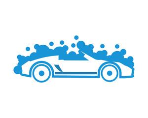 blue automotive cars icon