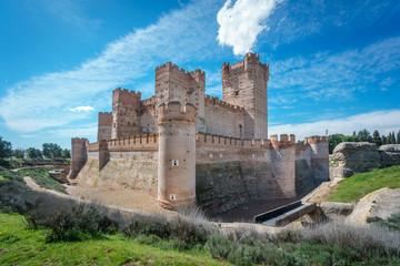 Castillo de la Mota in Medina del Campo, Castille, Spain