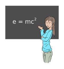De relativiteit theorie van Einstein uitgelegd door een lerares