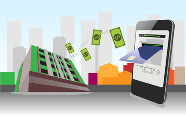 Mobile Banking, Service provided by a bank or other financial institution that allows its customers to conduct financial transactions remotely using a mobile device.