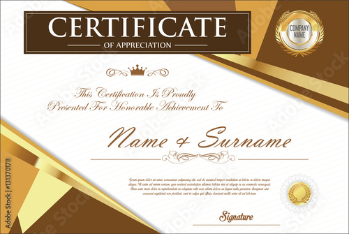 Certificate template retro design stock image and royalty free certificate template retro design yelopaper Image collections
