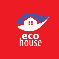 vector logo house