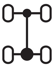 Chassis car icon
