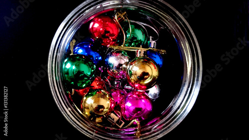 colorful new year decoration - photo #28
