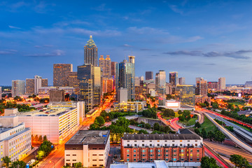 Atlanta Georgia USA Skyline