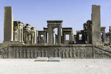 Persepolis in north of Shiraz, Iran. It has led to its designati