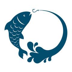 Fish jumping hook