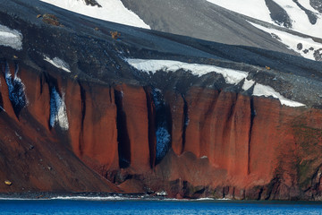 Printed kitchen splashbacks Antarctic Deception Island