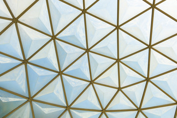 geodesic dome roof structure