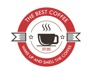 coffee shop logotype icon