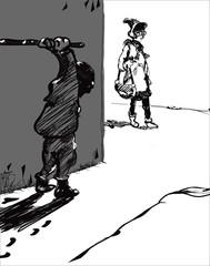 Hooligan And Victim