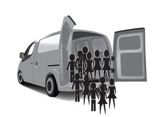 trasporto persone clandestini