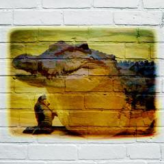 Art urbain, Crocodile