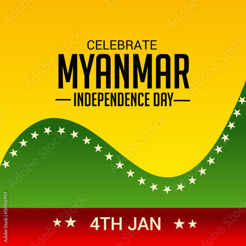 myanmar independence day General aung san demanded the independence of burma in january - 4 - 1948 & burma independence ceremony january - 4 - 1948 to january - 4 - 2013  65th burm.