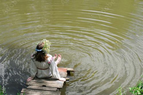Русские девушки на озерах фото
