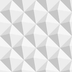 Grey triangles seamless pattern