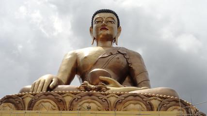 Giant Buddha statue in Thimphu, the capital of Bhutan