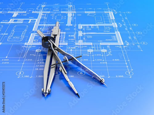 Engineering or architectural concept stockfotos und for Architectural engineering concepts