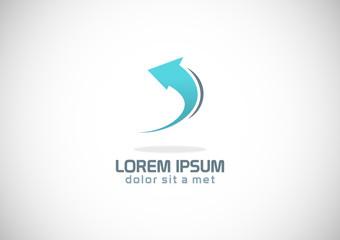 arrow loop vector logo