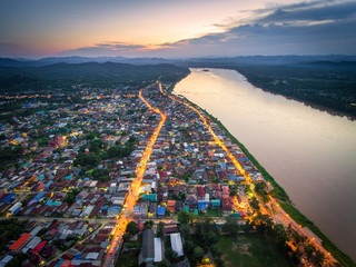 Chiang Khan District Small city in loei province, thailand